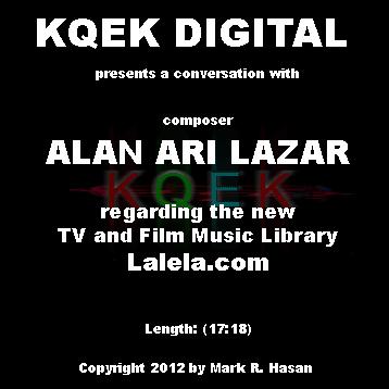 Alan Ari Lazar: Lalela Music Library + scoring Gangster's Paradise: Jerusalema