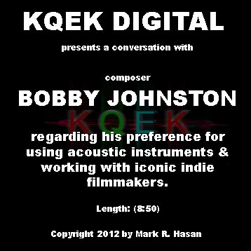 Bobby Johnston: Scoring the Independents
