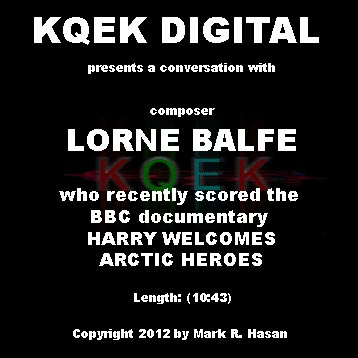 Lorne Balfe: Prince Harry's Arctic Heroes