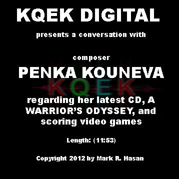Penka Kouneva: A Composer's Odyssey
