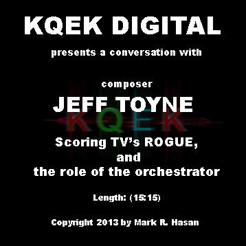 Jeff Toyne Goes Rogue